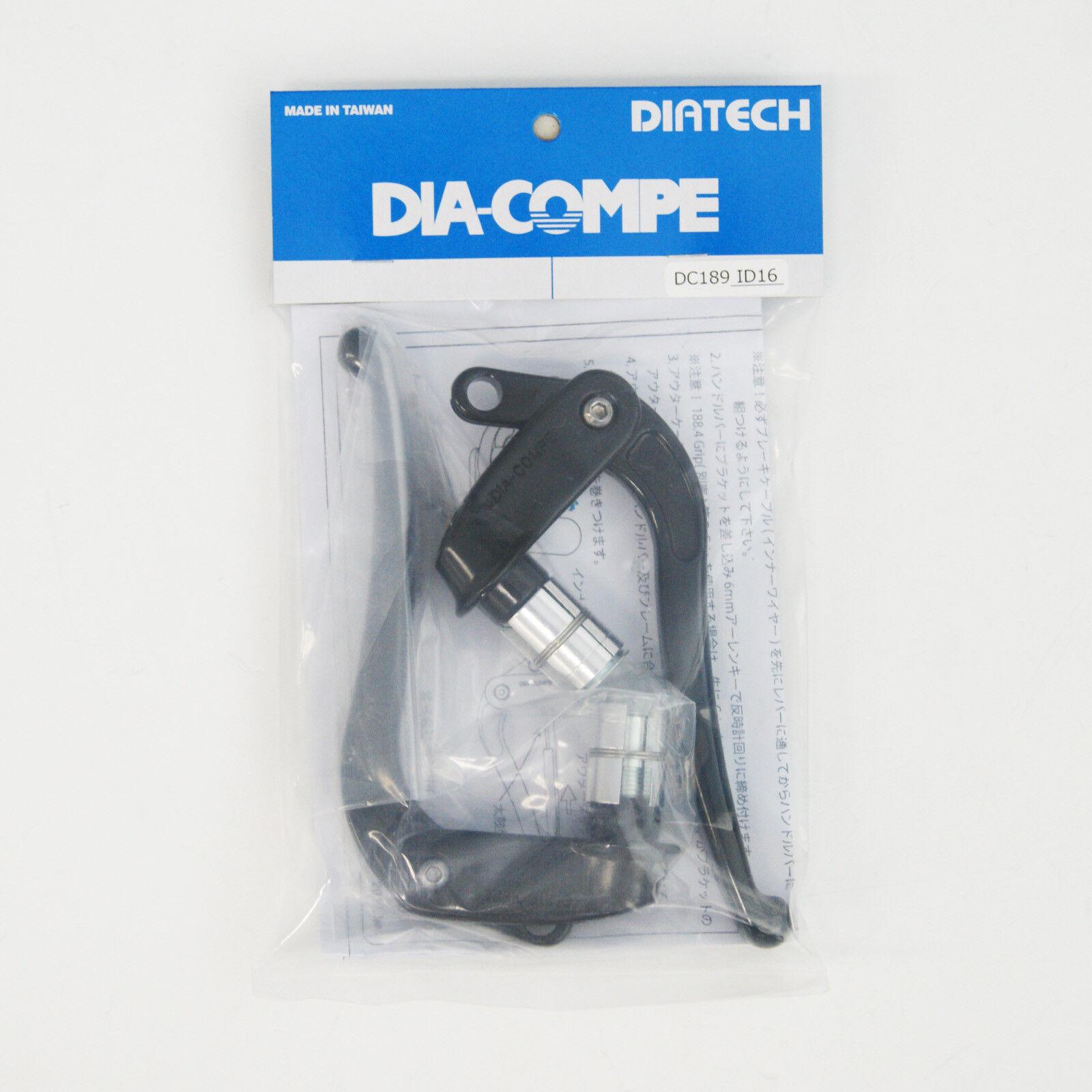 Dia-Compe DC189-ID16 Leva Freno Sinistra e Destra (Paio) schwarz