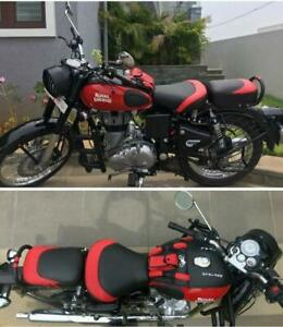 Fantastic Details About Royal Enfield Classic 350 500 Go Go Tank Cover Seat Cover And Back Rest Ring Red Evergreenethics Interior Chair Design Evergreenethicsorg