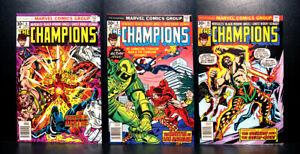 COMICS-Marvel-The-Champions-8-10-1976-RARE