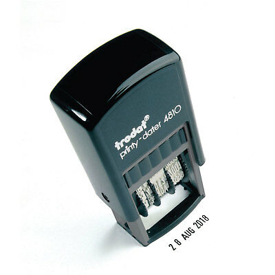 Trodat Self Inking Rubber Stamp Print Date Stamp Mini Dater 4810