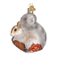 thumbnail 3 - Old-World-Christmas-HUNGRY-SQUIRREL-12277-N-Glass-Ornament-w-OWC-Box