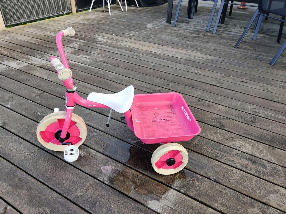 Pigecykel, trehjulet, Winther