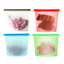 Reusable-Silicone-Food-Storage-Bags-2-Large-2-Medium-Sandwich-Liquid-Snack thumbnail 8
