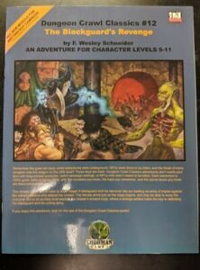 1x-Dungeon-Crawl-Classics-12-The-Blackguard-039-s-Revenge-Used-Fine-dungeon-crawl