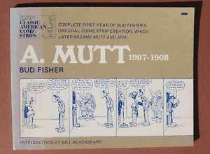 A-MUTT-1907-1908-BUD-FISHER-MUTT-and-JEFF-COMIC-STRIP-RAR-RARE