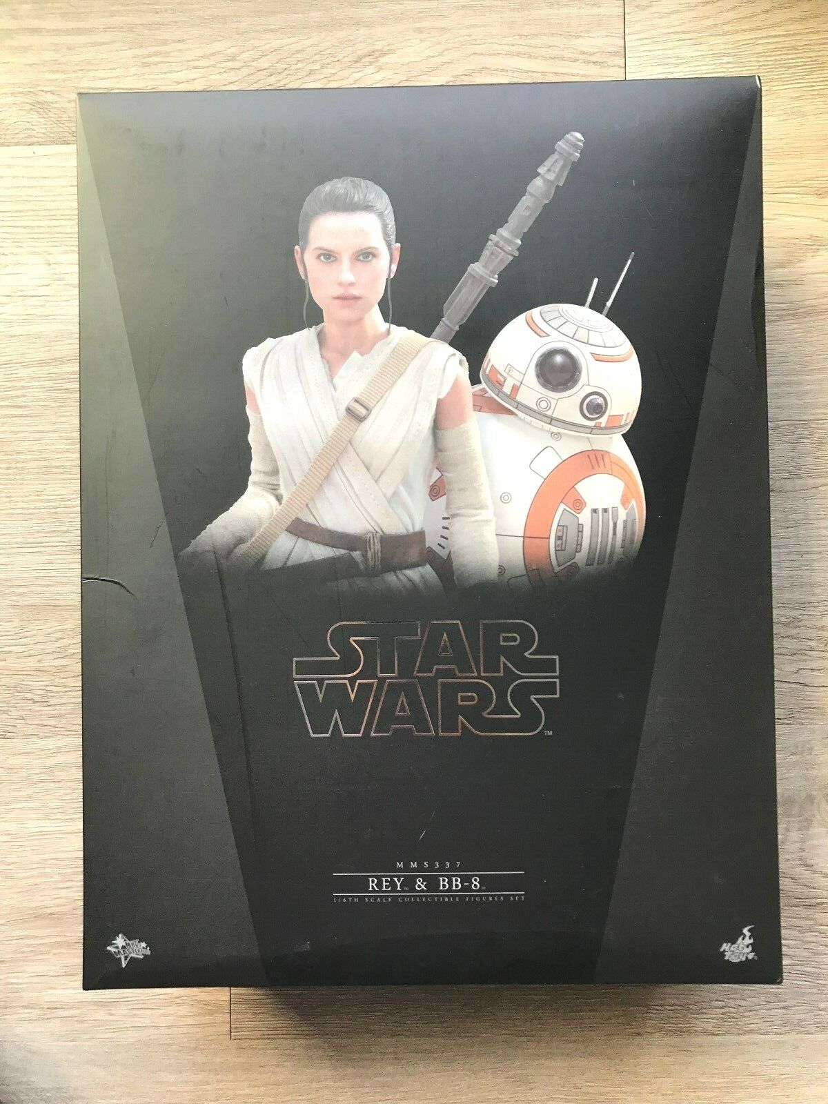 Hot Toys Movie Masterpiece 1 6 6 6 Scale Star Wars The Force Awakens - Rey & BB-8 4f3c08