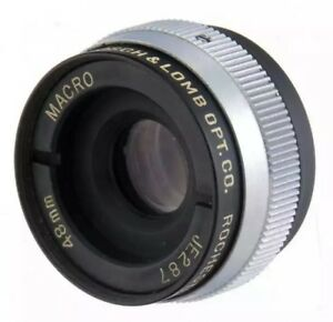 Bausch-amp-Lomb-Opt-Co-48mm-f4-5-MACRO-Micro-Tessar-Small-Lens-Rochester-NY-USA-RARE