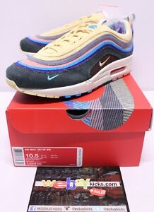hot sales 382d9 fcfcd Image is loading Nike-Air-Max-1-97-Sean-Wotherspoon-Blue-