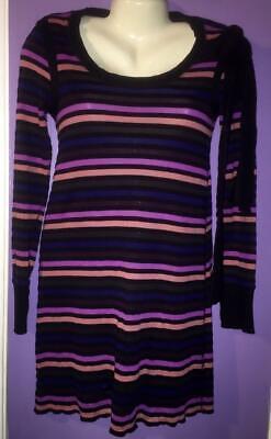 Sonia By Sonia Rykiel Striped Cotton Body Con Dress