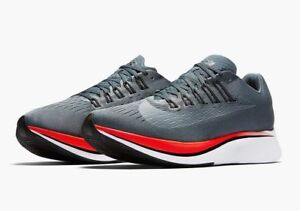 25fdf8cd998c6 New Men s Nike Zoom Fly Blue Fox Black Bright Crimson Size 12 880848 ...