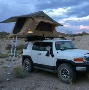 Image is loading 2017-ANTENERGY-2-4M-Roof-Top-Tent-CAMPING- & 2017 ANTENERGY 2.4M Roof Top Tent CAMPING CAR RACK STD Canvas ...