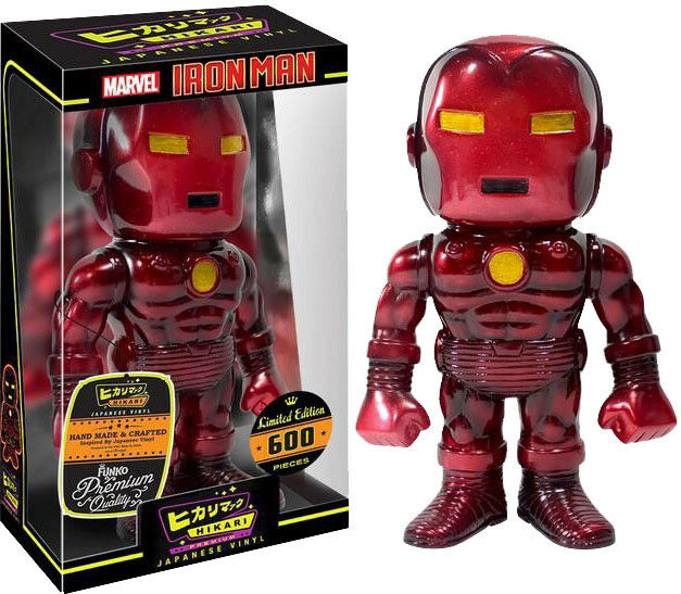 IRON MAN - Inferno Iron Man 7  Hikari Japanese Vinyl Premium Figure (Funko)  NEW
