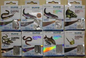 Balzer-Camtec-Platin-Edition-gebundene-Haken-verschiedene-Ausfuehrung-und-Groesse