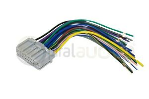 reverse radio wiring wire harness oem factory stereo installation image is loading reverse radio wiring wire harness oem factory stereo
