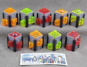 Uberraschungsei-Figuren-die-wachsende-Stadt-1997-Auswahl-mit-BPZ-Wolkenkratzer