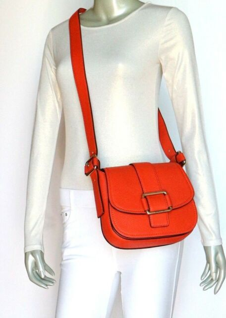 edd5b8d23ce0 Michael Kors Maxine Medium Saddle Bag 30H6TUZM2L Orange for sale ...