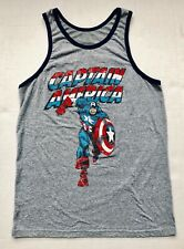 205021e0ac07fd item 7 MARVEL Comics Men s Captain America 75th Anniversary Distressed Gray Tank  Top -MARVEL Comics Men s Captain America 75th Anniversary Distressed Gray  ...