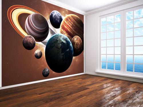50430105 Espace Planètes de The Solar Système Photo Papier-Peint Mure Mural