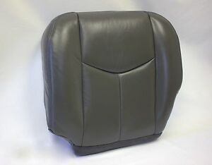 2003 2004 2005 2006 chevy silverado driver bottom vinyl seat cover dark gray ebay. Black Bedroom Furniture Sets. Home Design Ideas