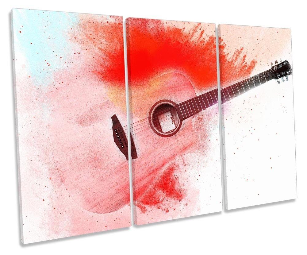 Guitar music rot canvas treble canvas rot wall artwork print art