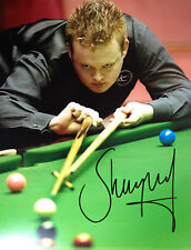 SHAUN MURPHY - SNOOKER GREAT - EXCELLENT SIGNED COLOUR PHOTOGRAPH