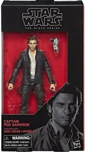 "Hasbro Star Wars The Black Series # 53 Captain Poe Dameron 6/"" inch Action Figure"