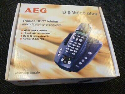 Kendte Find Telefon Med Telefonsvarer i Telefoner og tilbehør - Køb brugt HH-67