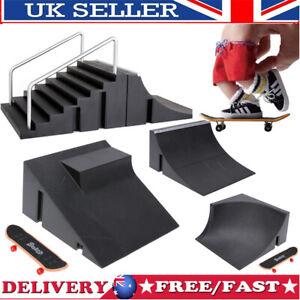 Fingerboard Skate Park Skateboard Mini Board Finger Ramps Toy Ultimate Tricks
