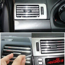 4m 6mm U Shape Air Vent Car Vehicle Grille Switch Rim Chrome Trim Strip Moulding