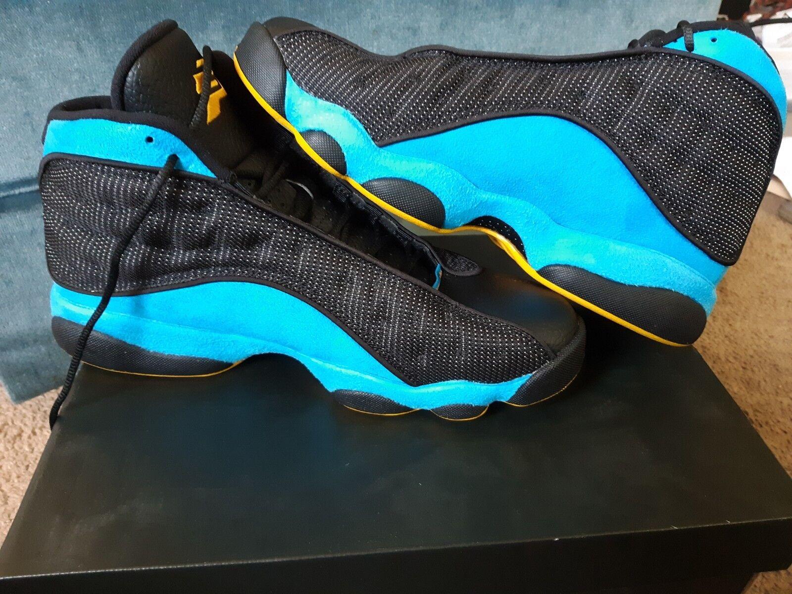 1dd2b5e82db Nike Air Jordan 13 Retro CP PE Size Paul Hornets Black bluee 823902-015  Chris 9.5 nxpdai1856-Athletic Shoes