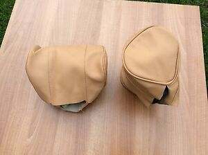 mg-mgb-headrest-covers-D-shape-profile-biscuit-biscuit-piping