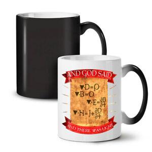 Physics Funny Joke NEW Colour Changing Tea Coffee Mug 11 oz   Wellcoda