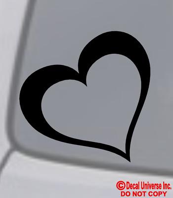 LIVE LAUGH LOVE INFINITY Vinyl Decal Sticker Car Window Wall Bumper Symbol Heart