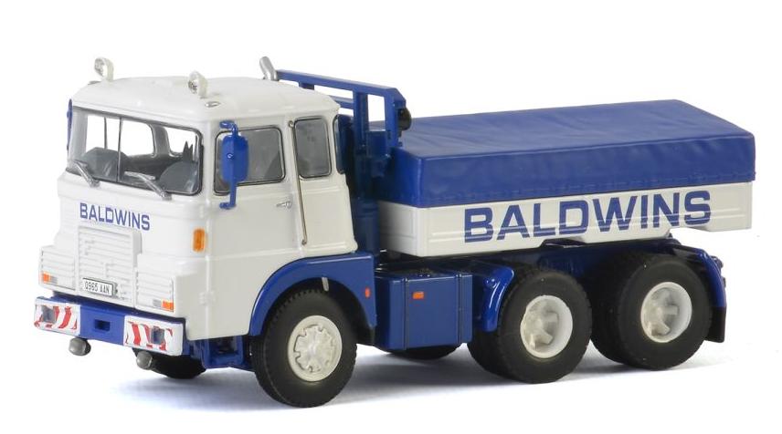 WSI Models-BALDI Crane Hire FTF F Series 6X4 BALLAST BOX + huif SCALA 1:50