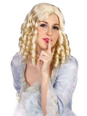 Perücke Georgia Locken Blond Fasching Karneval Party Blijf Je Altijd Fit