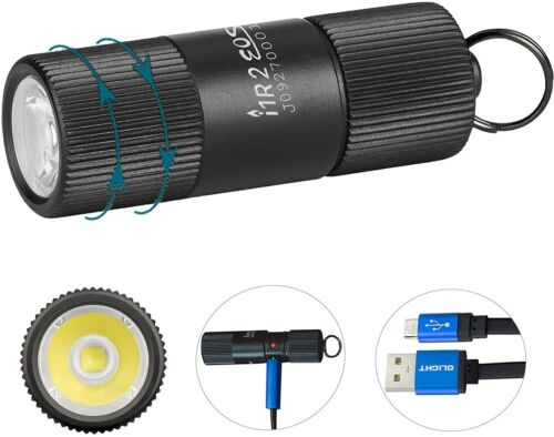 Details about  /OLIGHT I1R 2 EOS 150 Lumens EDC Keychains Flashlight+Charging Cable Hot Sale!!