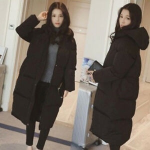 80c7904968e Jacket Coat Down Hooded Loose Winter Women Cotton Outwear New Warm ...