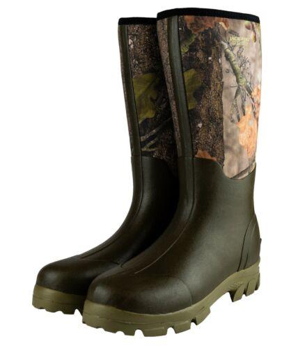 Jack Pyke Neoprene Wellington Boots EVO Camouflage Warm Camo Winter Thermal
