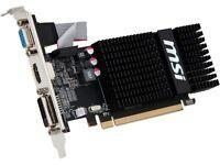 Msi Radeon R5 230 Directx 11 R5 230 2gd3h Lp 2gb 64-bit Gddr3 Pci Express 2.1 X1 on sale