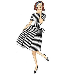 Caricamento dell immagine in corso Abito-IN-STILE-RETR-Sewing-Pattern -ANNI-CINQUANTA- d5449c1a6a6