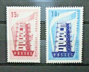 FRANCIA-1956-034-EUROPA-CEPT-034-SERIE-NUOVA-MNH-SET-CAT-SC