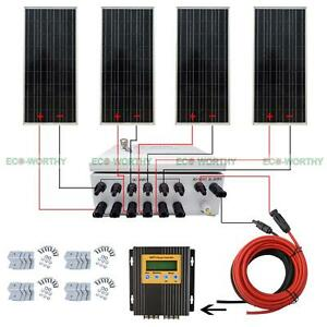 image is loading eco-400w-off-grid-solar-panel-system-100w-