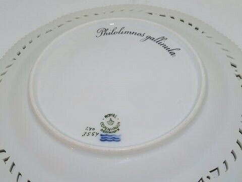 Porcelæn, Fauna Danica  Frokosttallerken med