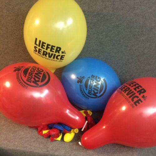 "balloons Palloncini Globos Belbal 14/"" 50 große BK Lieferservice Luftballons"