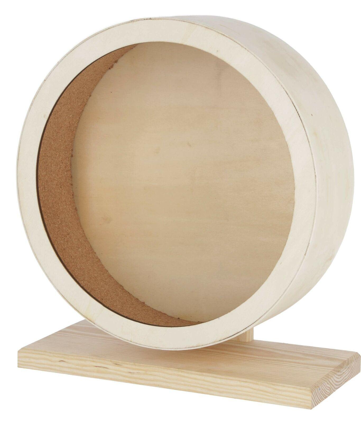 KERBL criceto ruota in legno, 30 cm, Marrone