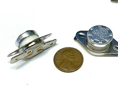 2 Piece N//C 110ºC 230ºF normally closed Thermal  Thermostat switch KSD301 C26
