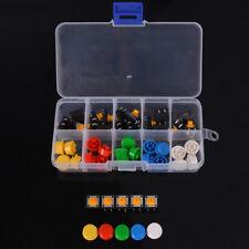 25pcs Tactile Push Button Switch Momentary Tact Amp Cap 12x12x73mm Kit Arduinozy