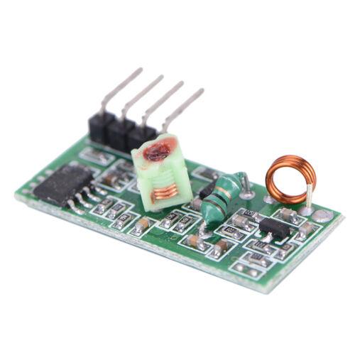 5Pcs 433Mhz RF transmitter and receiver kit Module Arduino ARM WL MCU Raspber G3
