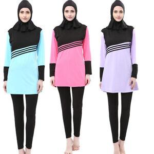 6f97a7e10352c Image is loading Muslim-Lady-Modesty-Swimwear-Swimsuit-Full-Cover-Islamic-