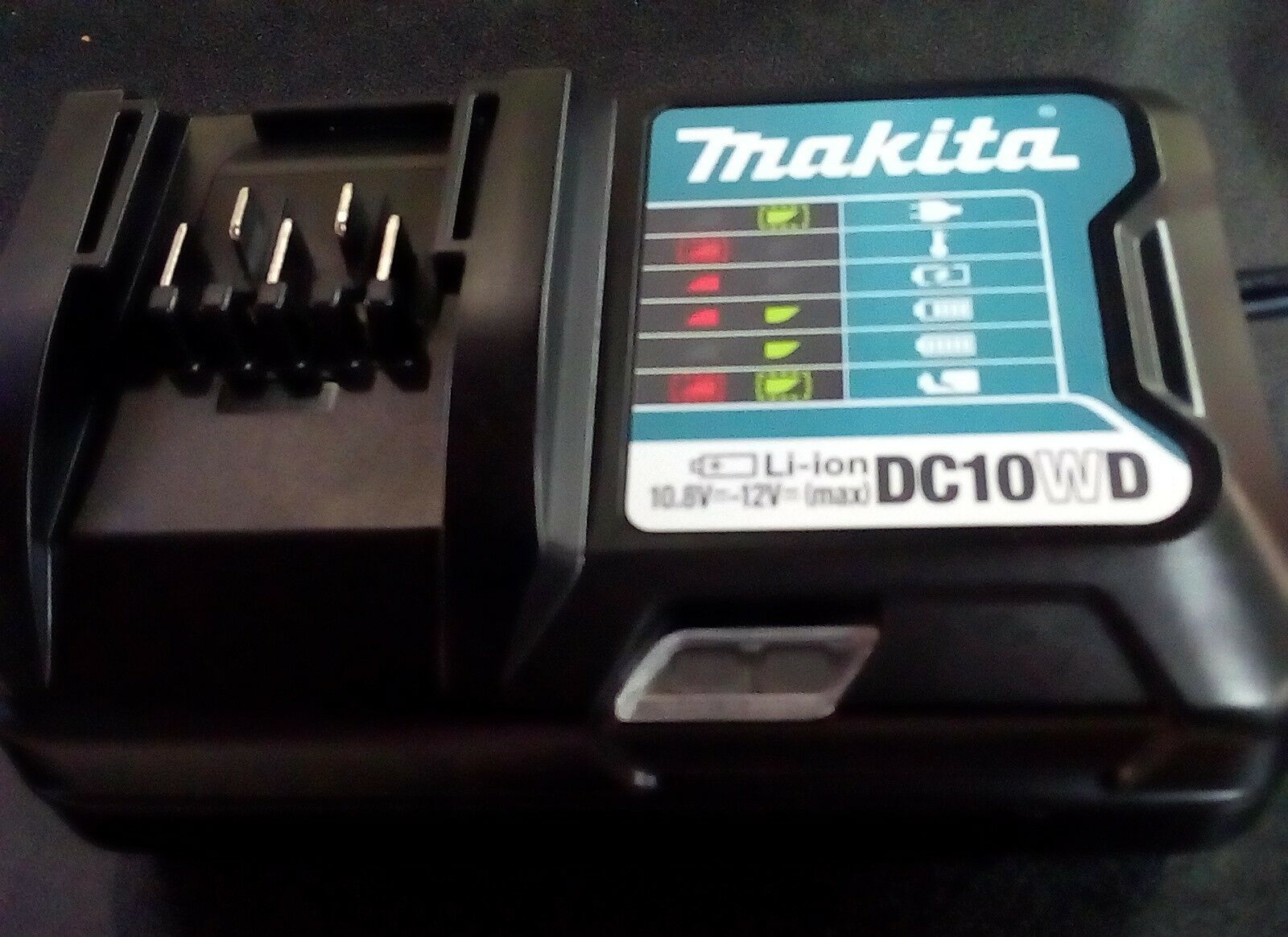 197340-6 Original Makita Charger 10.8V-12V DC10WD